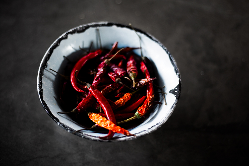 Rustic chillies