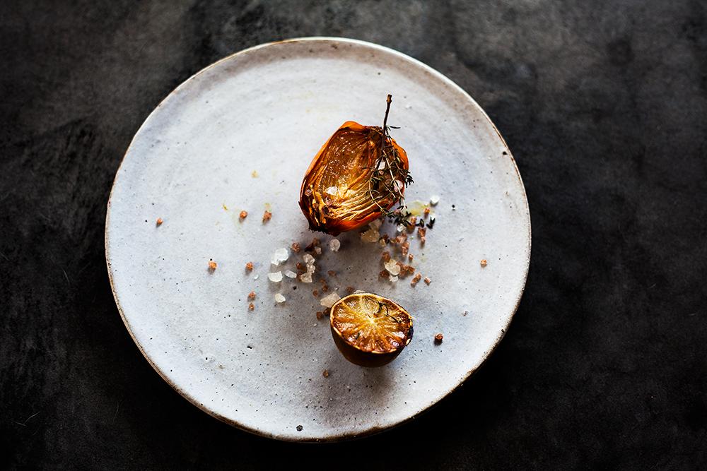 Caramel Fried Onion and Lemon