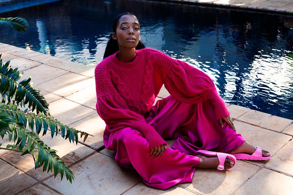 Erre knitwear in pink