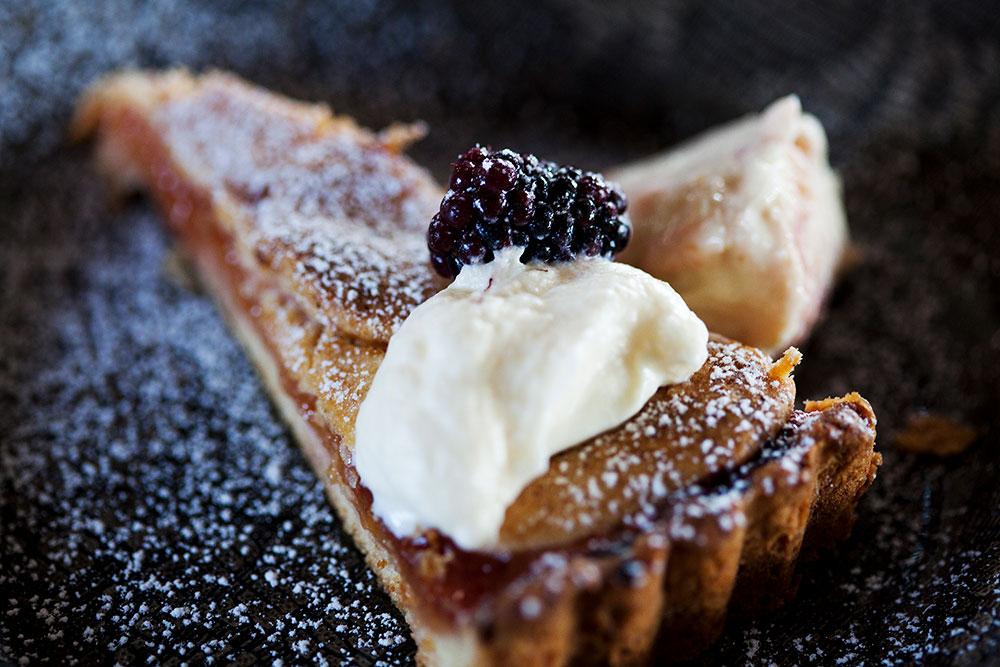 Mulberry tart