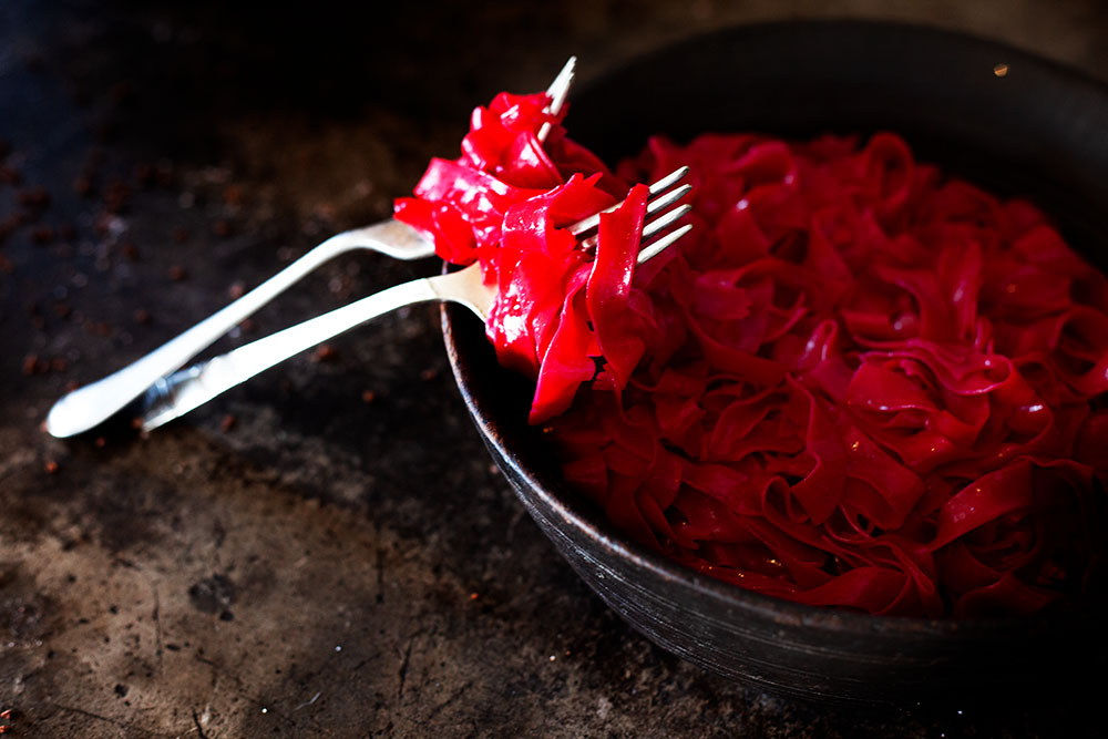 Red Tagliatelle
